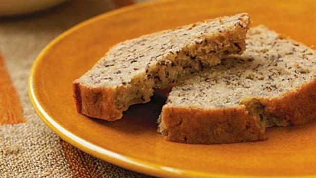 Šnite kruha na tanjuru