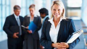 buswoman-colleagues