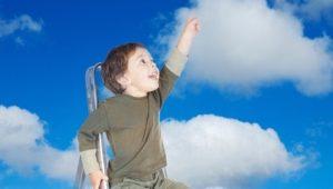 Dječak na oblacima