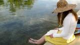 megin_woman_reading_lake