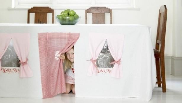 stoljnjak - kućica za djecu