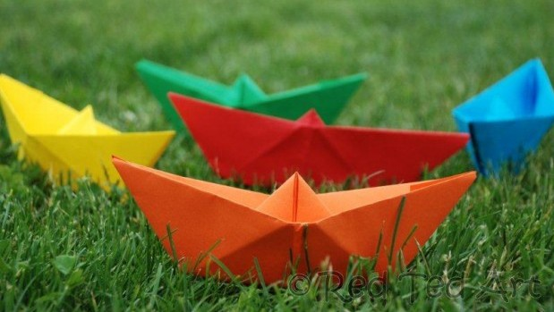 paper-boats