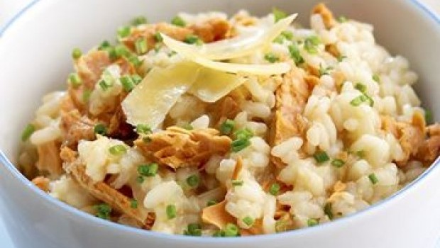 salmon-and-chive-risotto