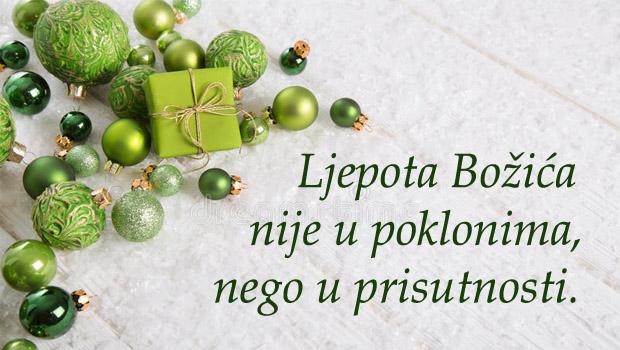 Božić-prisutnost
